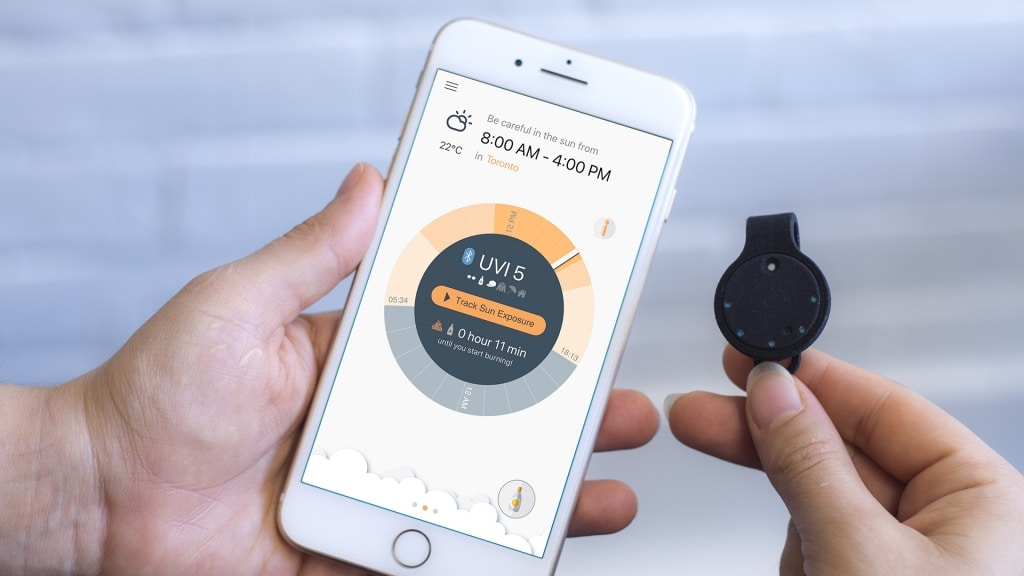 QSun | Wearable Sun Tracker | Balance UV exposure and vitamin D